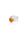 Love Claw Ring- Citrine