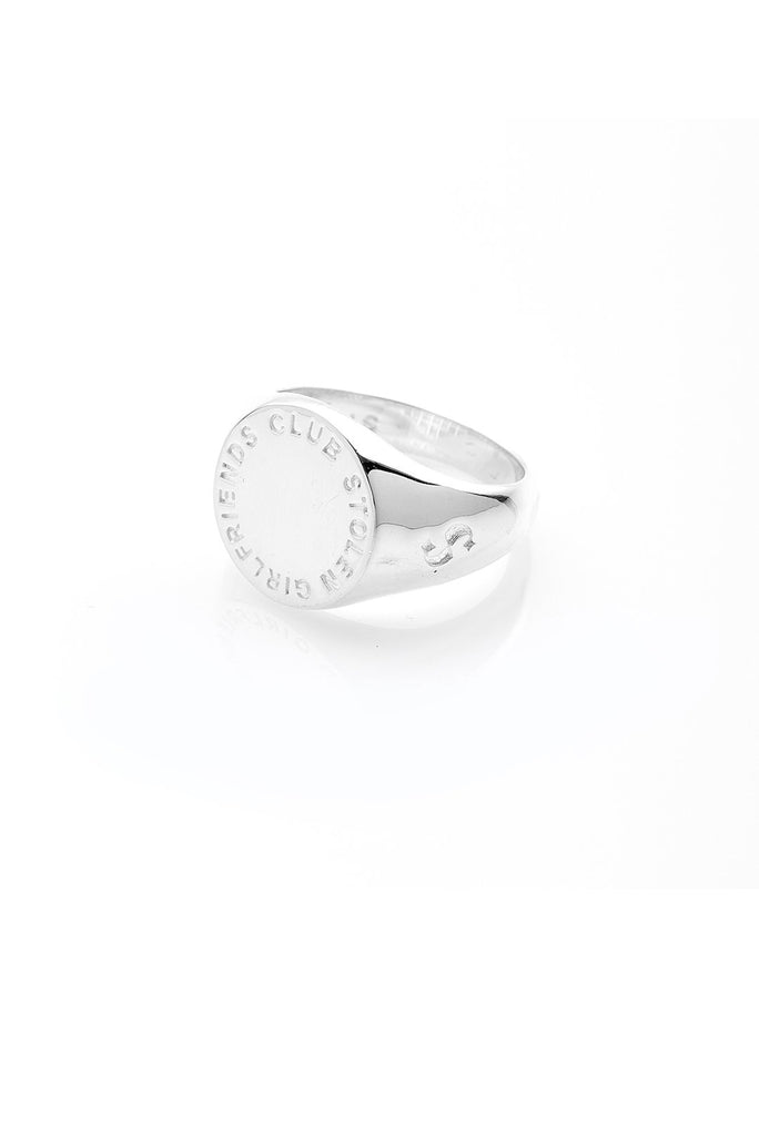 Text Logo Sovereign Ring