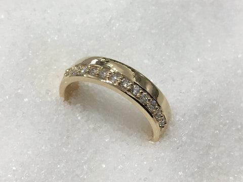 9ct Diamond Ring TDW.25ct