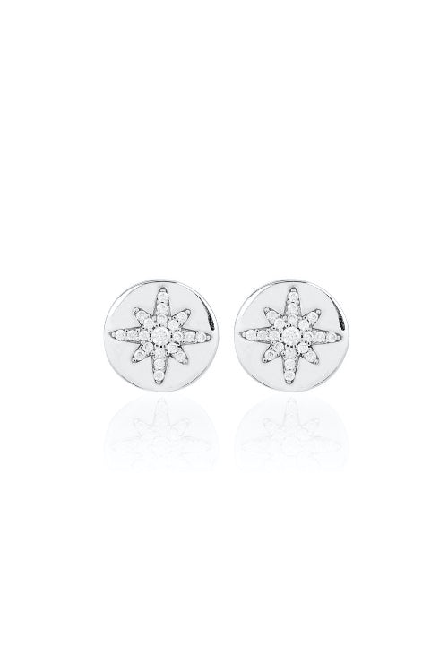 Starburst Button Stud