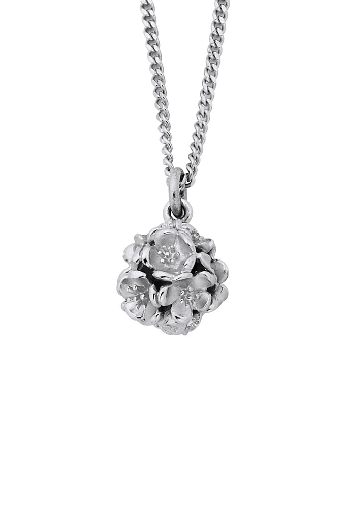 Small Flower Ball Pendant