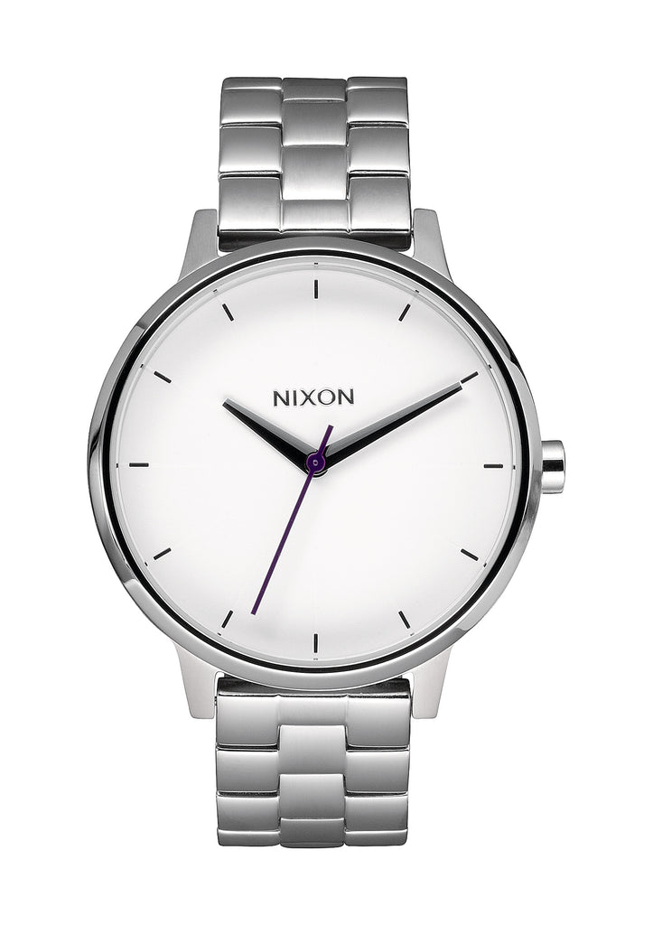 Kensington Silver with white dial A099 100-00