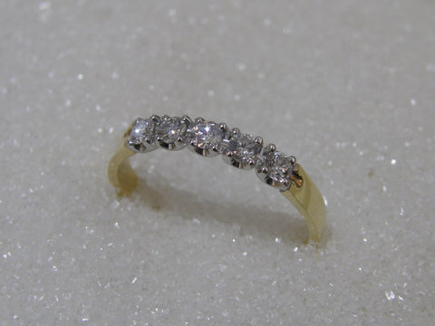 18ct Diamond Ring TDW .33ct