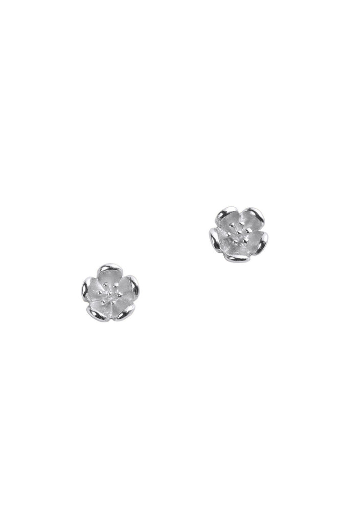 Mini Botanical Stud Earrings