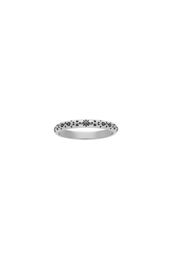 Violette Ring Round Band