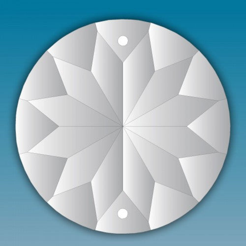 Asfour Crystal 1040 Circle Chandiler Parts Prisms