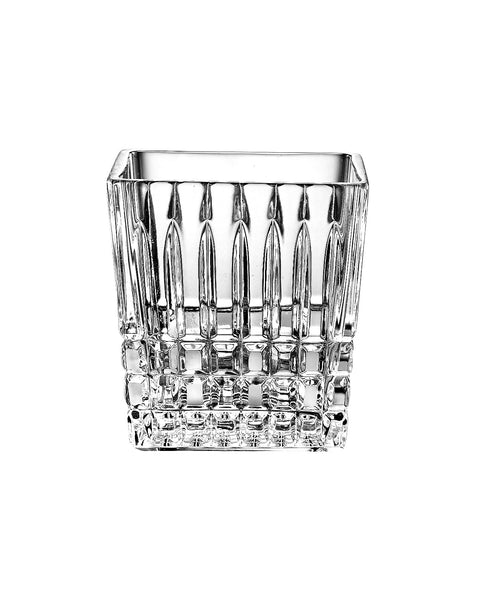 "Majestic Gifts 35901-4 Crystal Cotton Swab Holder,  4""H"