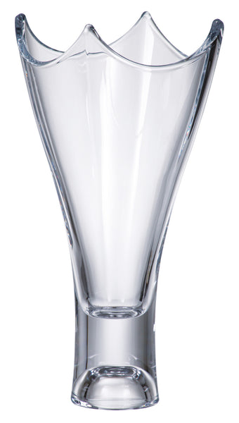 "Majestic Gifts Crystalline Glass Vase, 14""H"