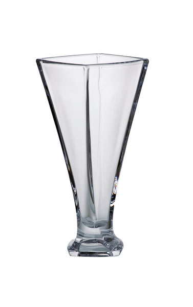 Majestic Gifts 97119 Crystalline Glass Square Vase