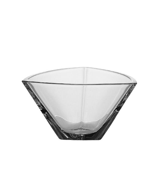 Majestic Gifts 97302 Crystalline Glass Triangle Bowl