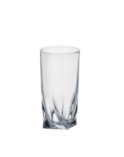 Majestic Gifts 97523-S6 Crystalline Glass Highball Tumbler 11.75 oz. Set of 6