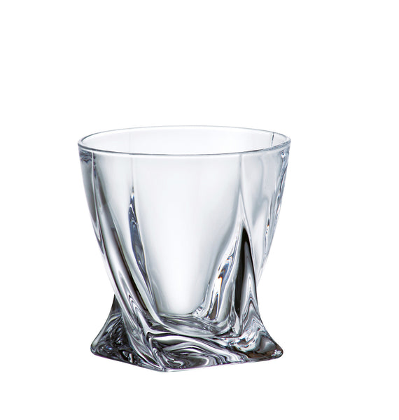Majestic Gifts 97524-S6 Crystalline Glass Double Old Fashioned Tumbler 11.5 oz. Set of 6
