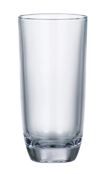 Majestic Gifts 97533-S6 Crystalline Glass Highball Tumbler 10.5 oz. Set of 6