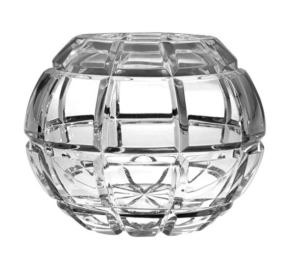 Majestic Gifts BL-120 Hand Cut Crystal Rose Bowl