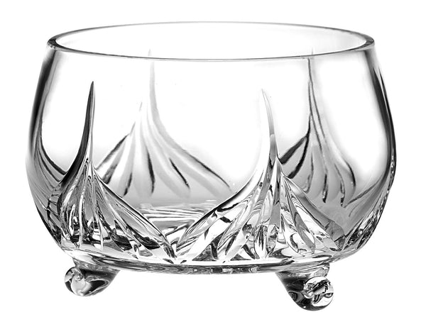 "Majestic Gifts C625FL Hand Cut Crystal Bowl, 8""D"