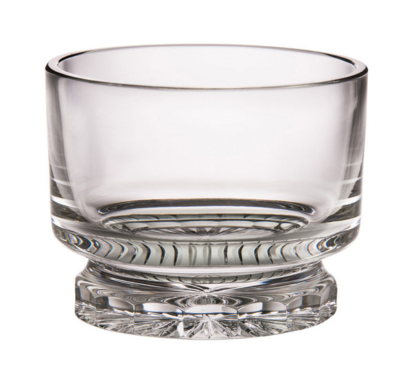 "Majestic Gifts C627DU-9 Hand Cut Crystal Straight Sided Bowl, 9""D"