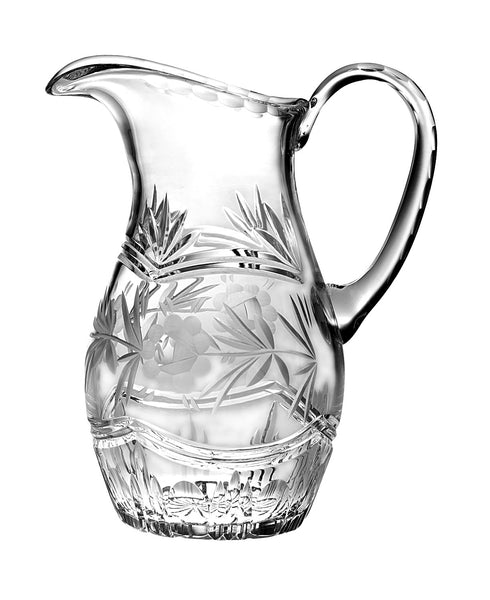 Majestic Gifts C679VC Hand Cut Crystal 54 oz. Pitcher