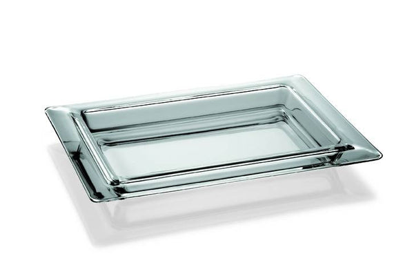 "Majestic Gifts E60004 Quality Glass Tray, 15.7"" x 11.8"""