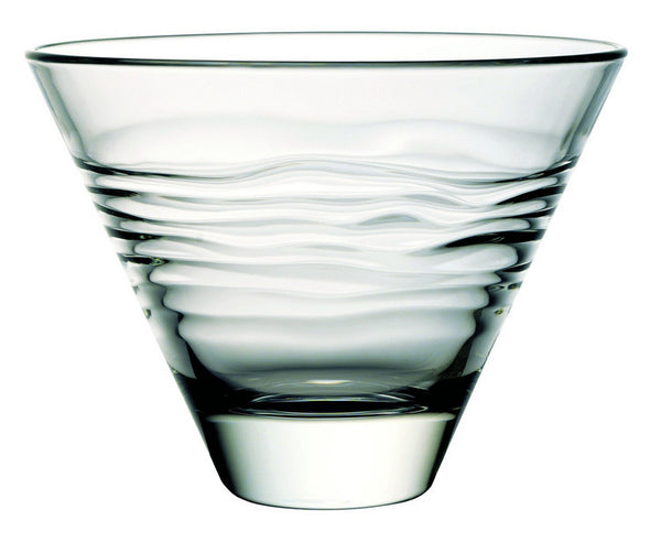 "Majestic Gifts E61958-S6 Quality Glass Individual Bowl 4.75""L x 3.9""W, Set of 6"