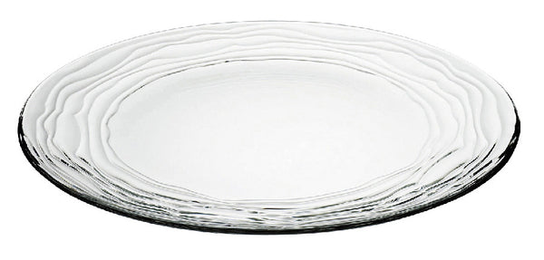 "Majestic Gifts E64691-S2 Quality Glass Plate, 12.5""D, Set of 2"