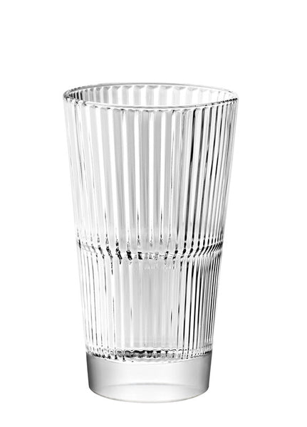 Majestic Gifts E65423-S6 Quality Glass Stackable Highball Tumbler 10 oz. Set of 6