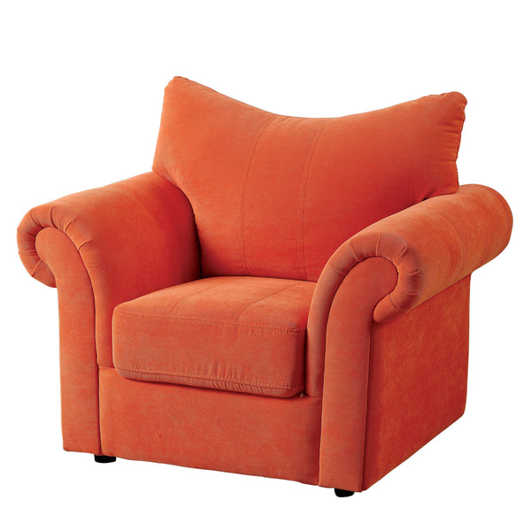 Celeste Contemporary Youth Chair in Orange