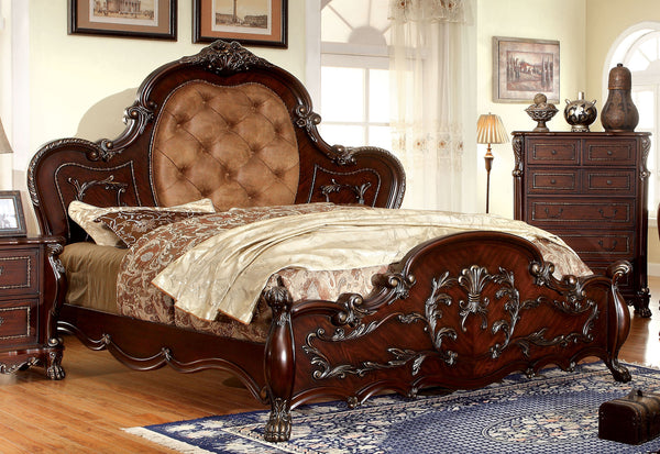 Baxter Traditional Queen Bed in Cherry