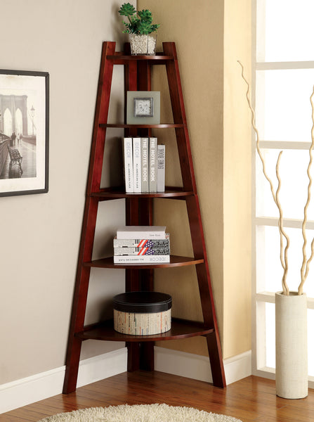 Louisa Contemporary Display Shelf in Cherry