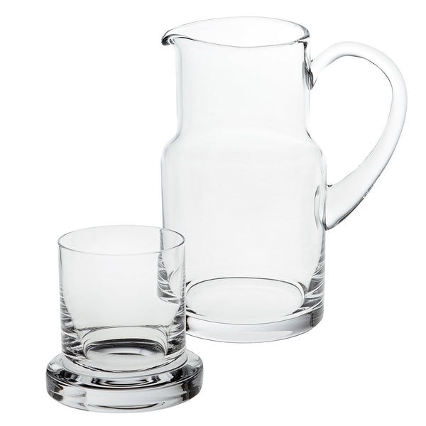 "Badash K905 Manhattan Carafe Set  H8""  24Oz"