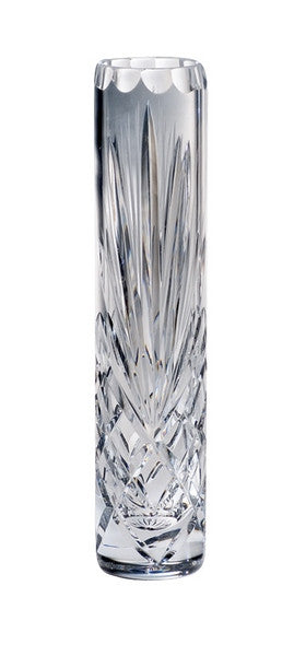 "Majestic Gifts MA-171-8 Hand Cut Crystal Bud Vase, 8""H"