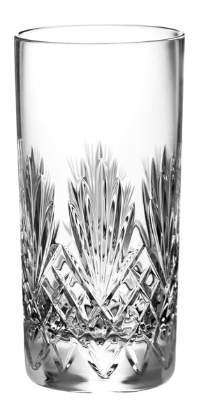 Majestic Gifts MA-503 Hand Cut Crystal Highball Tumbler 14 oz. Set of 4