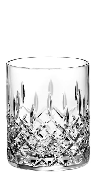 Majestic Gifts PL-504 Hand Cut Crystal Double Old Fashioned Tumbler 14 oz. Set of 4