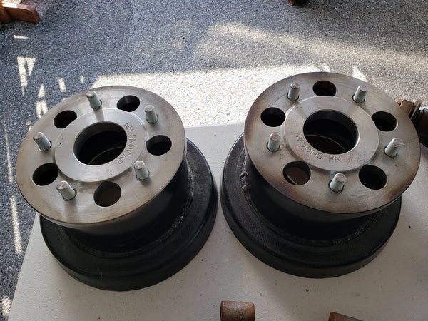 Model A Axle extensions