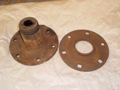 TT Wheel Hub & Flange (used) S3-1112