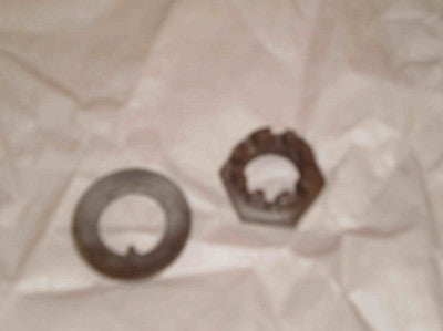Spindle Axel Nut & Washer Set