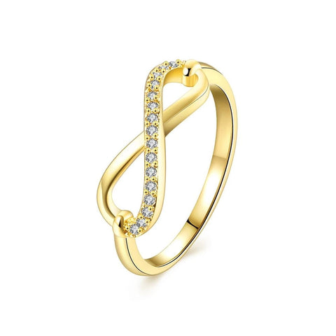 Infinity and Beyond Crystal Ring