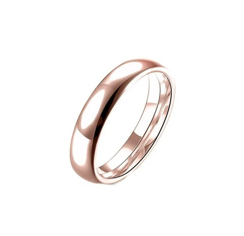 Stainless Steel Comfort Fit Unisex Ring