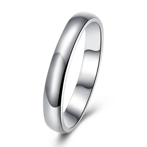 Classical Unisex Band Ring