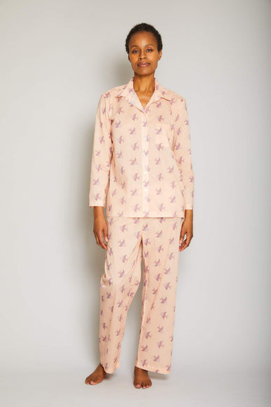 Multi Fish Print Pajama Set