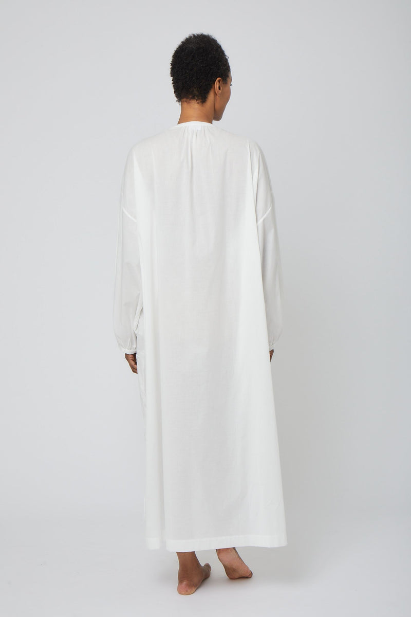 Mona Long Button Front Nightgown