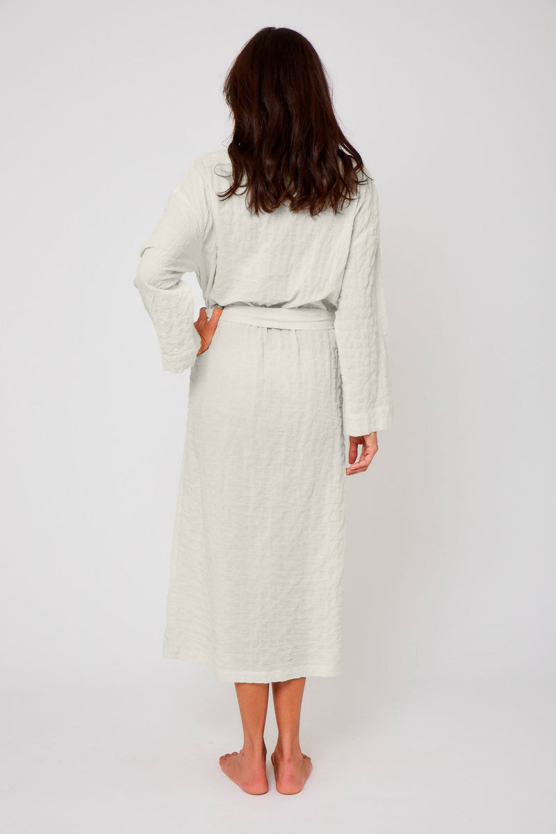 Organic Japanese Cotton Long Robe