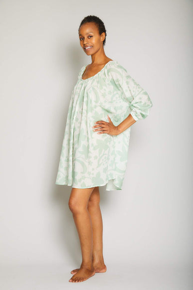 Hawaiian Print Tunic
