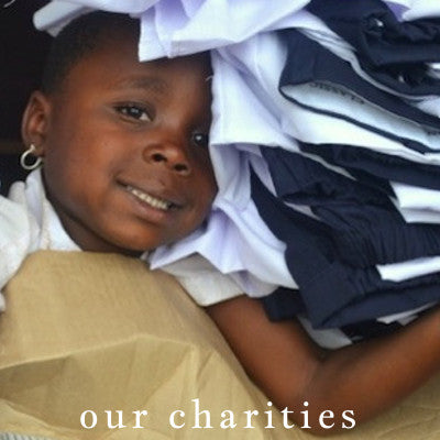 our charities