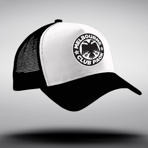 MCP Black/White Trucker Cap