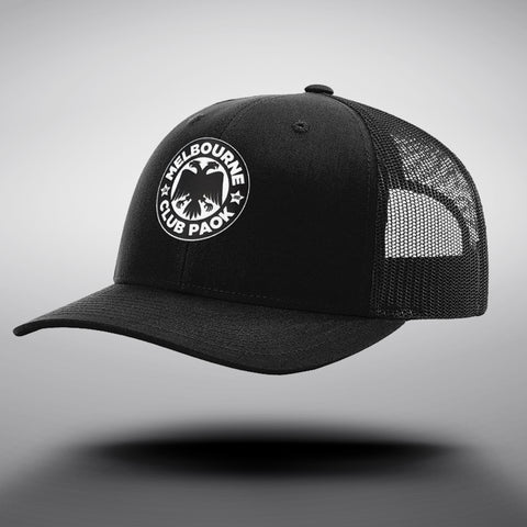 MCP Black Trucker Cap
