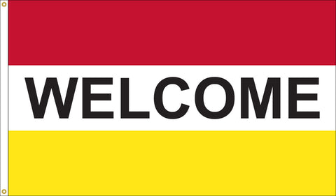 Welcome Flag - 2
