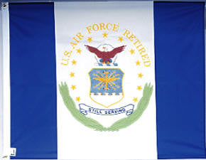 Air Force - Retirement Flag