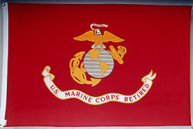 Marine Corps - Retirement Flag