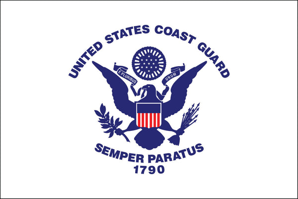 Coast Guard Retired Flag