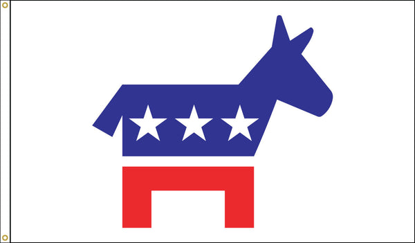 Democratic Donkey Flag